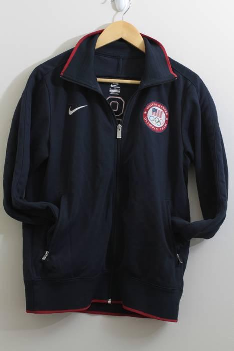 Nike NIKE Team USA Olympic Navy Track jacket Size m - Light Jackets ... 1f03799e346e