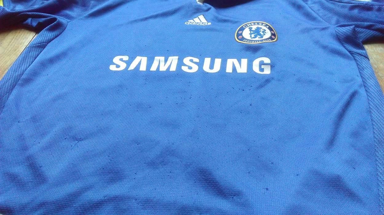 1b7d631e4 Adidas ADIDAS CHELSEA JERSEY Chelsea Football Club Fc Sport Sweatshirt Boys  Blue Tshirt Soccer Streetwear Samsung