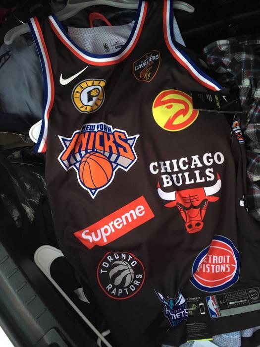 c30b4cd7bd6 Supreme Supreme NBA Nike Jersey Size m - Jerseys for Sale - Grailed