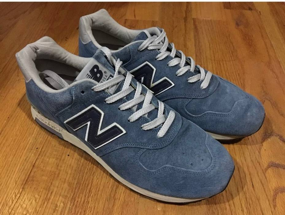 New Balance NB x J.Crew 1400 Sneakers - Blue Suede Size 11.5 - Low ... 2dd172804f