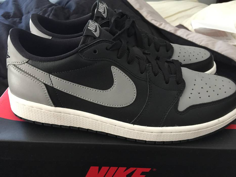 Nike Air Jordan 1 Retro Low OG Shadow Size 11 Size 11 - Low-Top ... 8f04c47c89