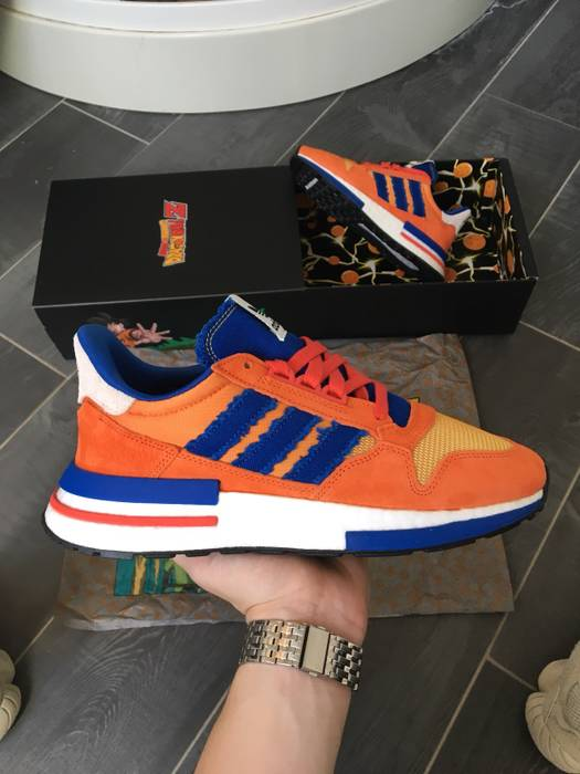 8d2b3bf36272 Adidas DBZ x Adidas ZX 500 Son Goku Size 6 - Low-Top Sneakers for ...