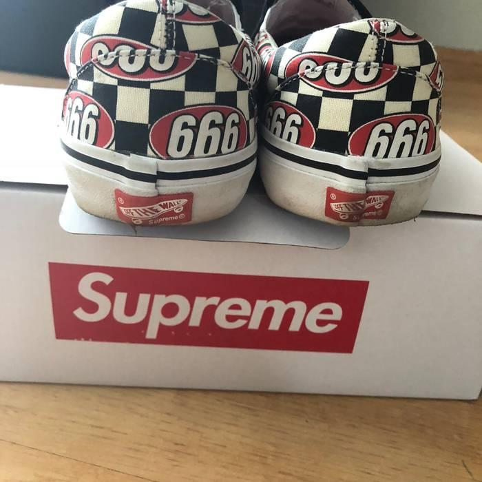 Supreme Supreme X Vans 666 Slip Ons (LAST DROP) Size 11.5 - Low-Top ... 90842d371