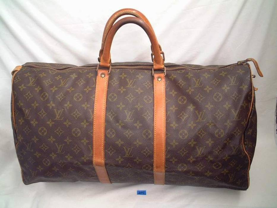 e44c9ca3466 Louis Vuitton 55 Keepall LV Monogram Duffle Size one size - Bags ...