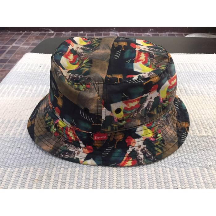 Supreme S S14 Comme des garcons Box logo Crusher bucket hat Size ONE SIZE 0db43befe72