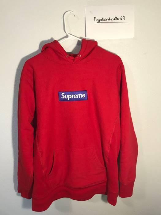 484bd32e0c33 Supreme Supreme Box Logo FW17 Red and Purple Size l - Sweatshirts ...
