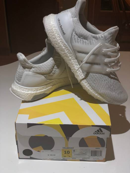 55dac2b50 Adidas Adidas Ultra Boost 3.0  Triple White  Size 10 - Low-Top ...