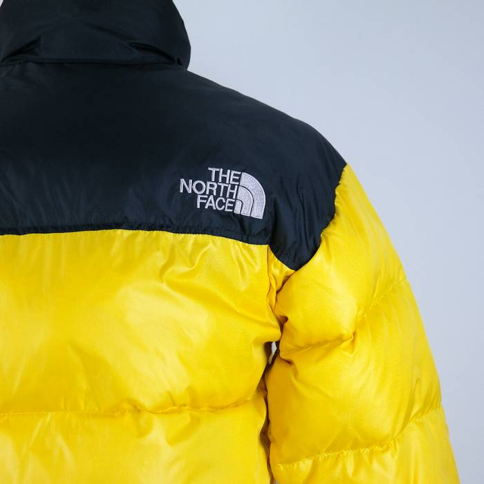 de2cb597a7 The North Face North Face YELLOW 700 Nuptse Goose Down Puffer Jacket Padding  Parka ✅ Size