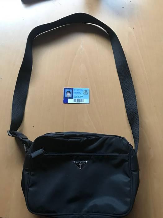 238bc7f230c81 Prada Prada Nylon Diagonal Shoulder Bag Size one size - Bags ...