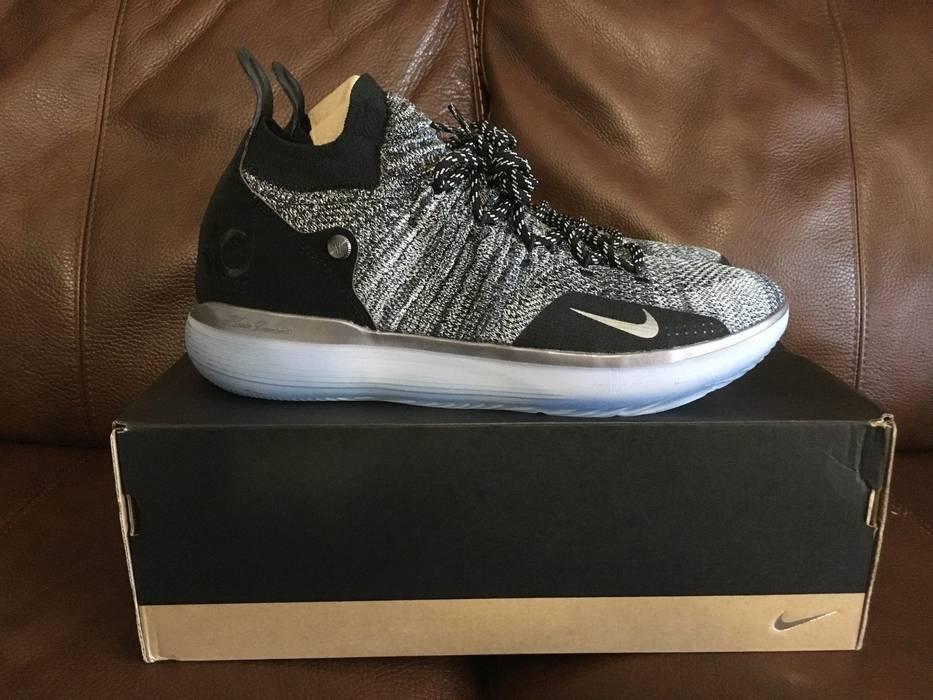 b290fcea783 Nike Nike KD 11 Still KD Size 11 Black Kevin Durant Flyknit AO2604 ...