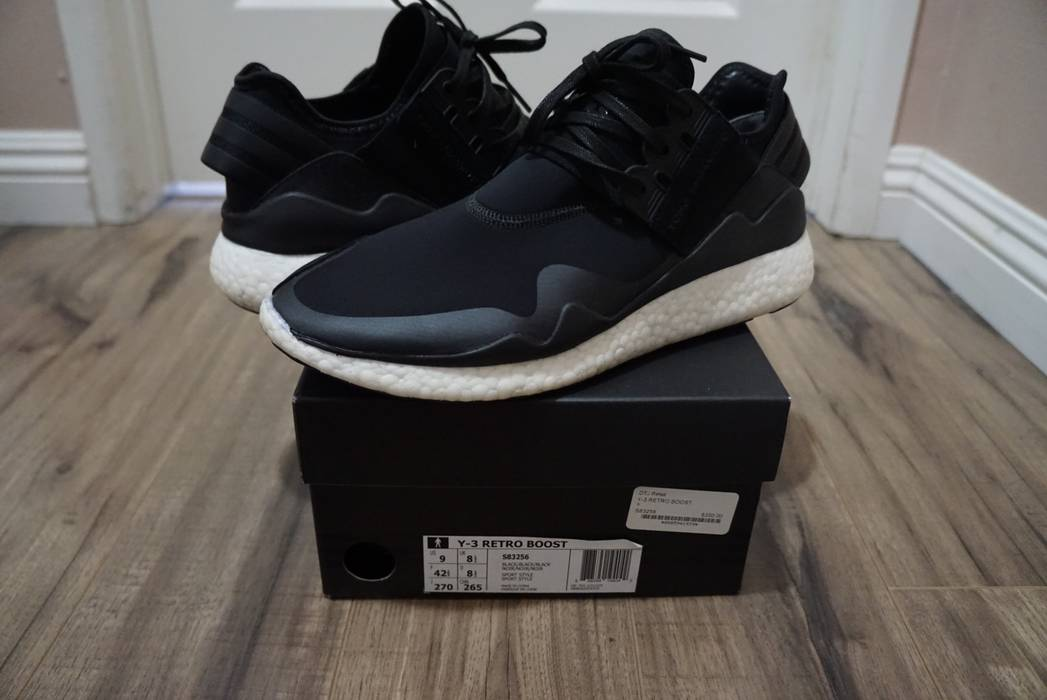 29902bc734df5 Y-3 Y-3 Retro Boost Size 9 - Low-Top Sneakers for Sale - Grailed