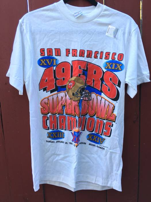 Vintage 49ers Super Bowl Champs 90 s Shirt Size m - Short Sleeve T ... 62f56af91