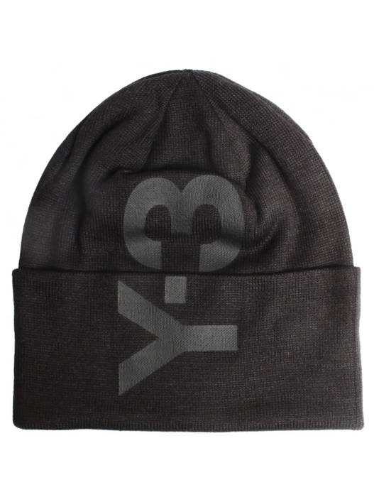 5bc5a1e6efa Adidas Y-3 Logo Beanie Size one size - Hats for Sale - Grailed