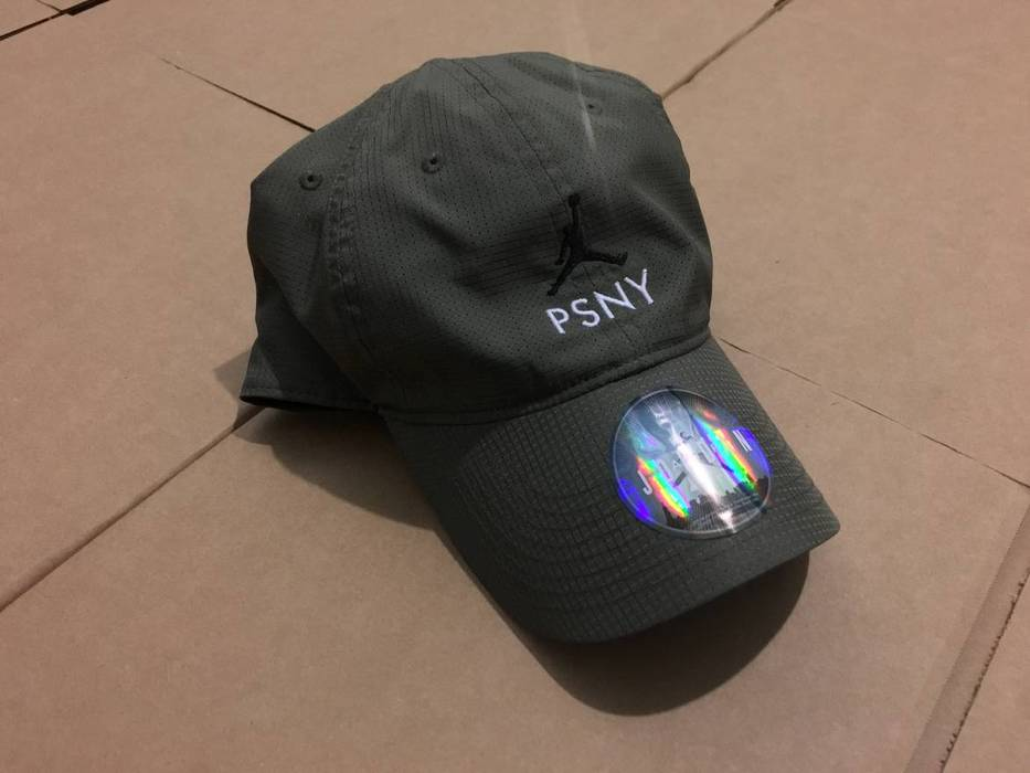 Jordan Brand NIKE AIR JORDAN X PSNY PUBLIC SCHOOL OLIVE DAD HAT CAP Size  ONE SIZE 35d440b3ae6