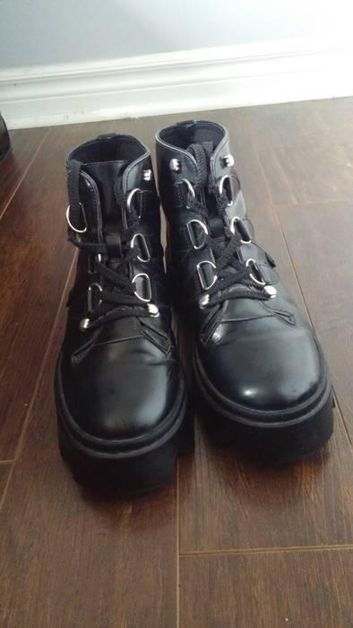 5aa2536fd61ae Underground Underground Evolution Jungle Boots - Black Leather Size US 9.5    EU 42-43