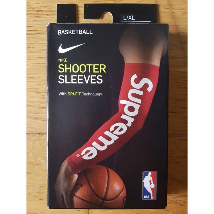 Supreme Supreme Nike Nba Shooting Sleeve Red L Xl Size One
