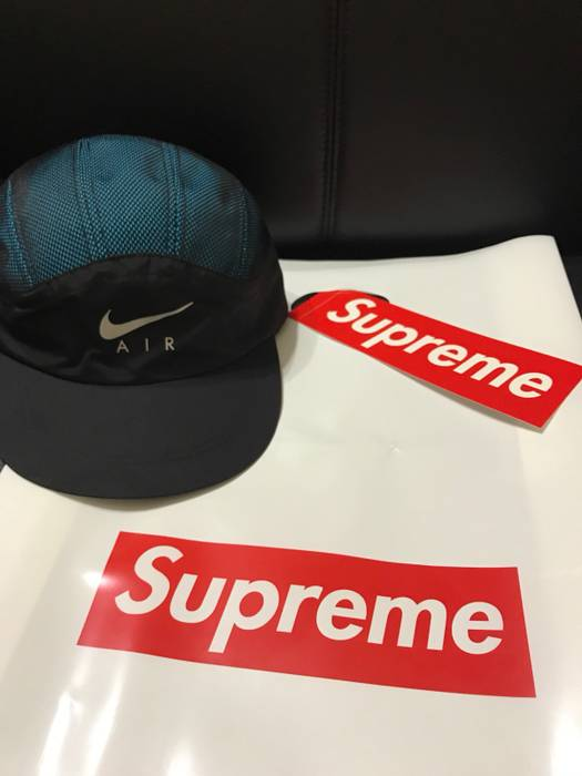 122c855c3e9 Supreme Supreme X Nike Trail Running Hat Blue Size one size - Hats ...
