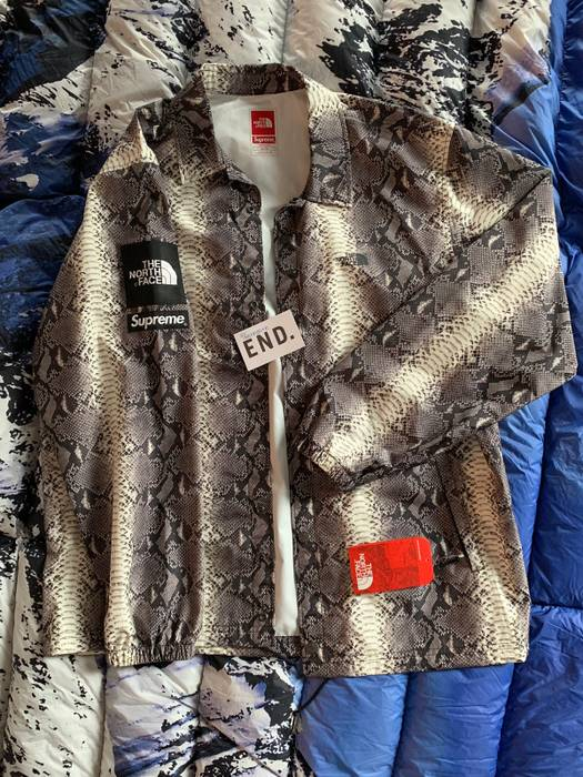 eb7e38a1ee6b6e Supreme Supreme® The North Face® Snakeskin Taped Seam Coaches Jacket Size  US XL