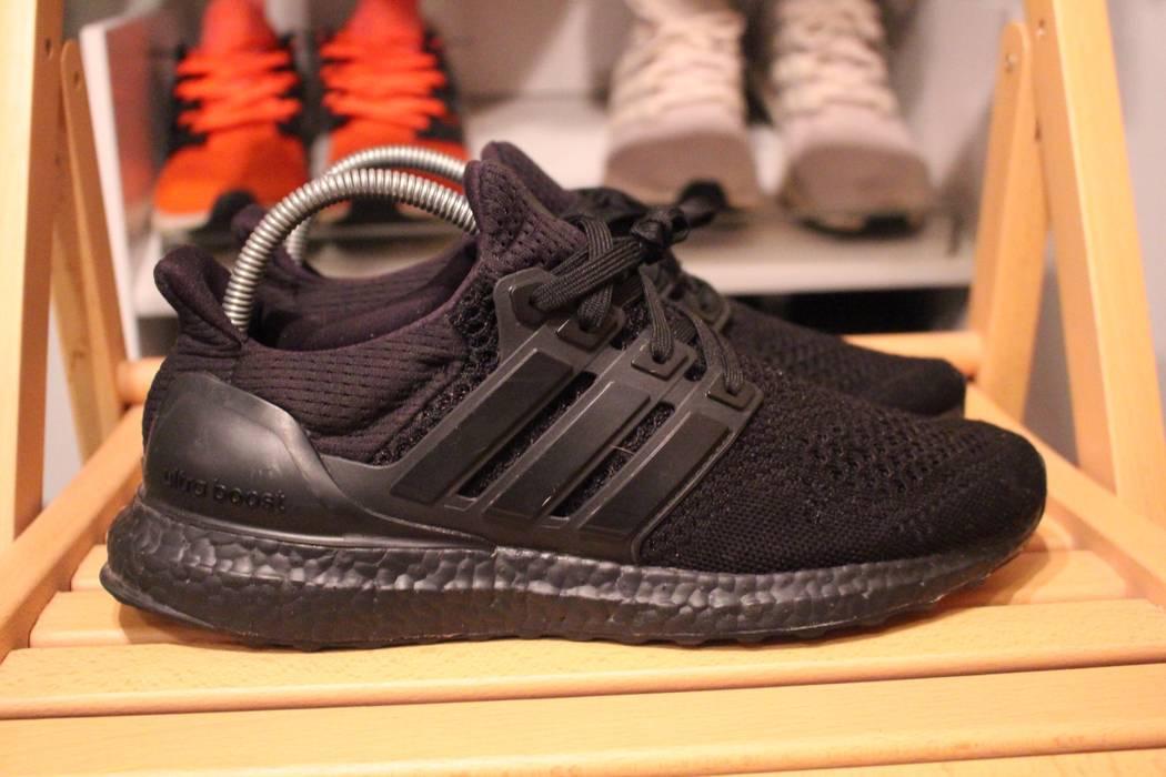 7b16e20d18b Adidas. Adidas Ultra Boost 1.0 Triple Black LTD White Kanye West BB4677