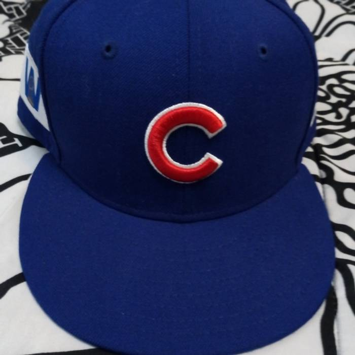 New Era Cubs World Series Snapback Official Merchandise Size one ... 0b713c7311f