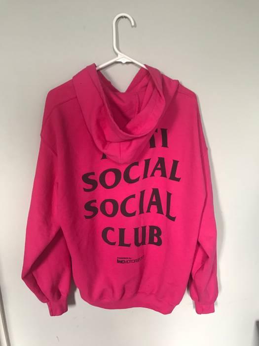 481ace26f9fd Antisocial Social Club. Anti Social Club Pink Hoodie. Size  US L   EU 52-54  ...