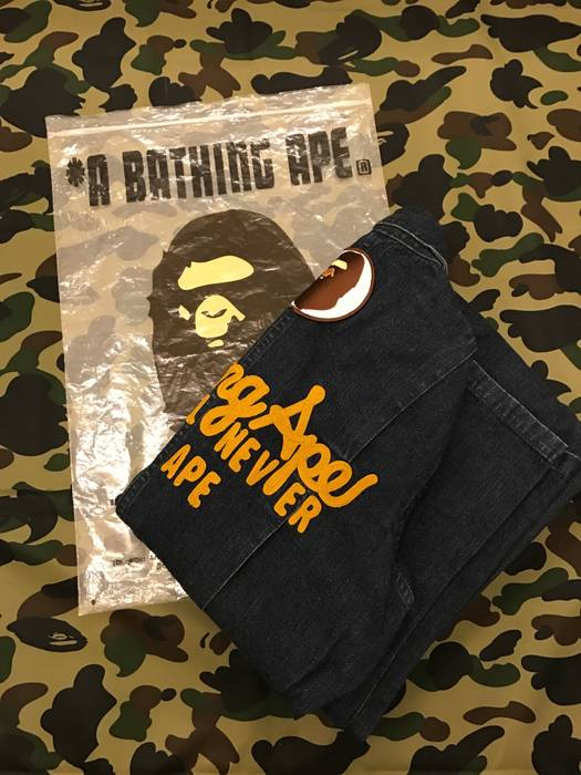 a003065d50a4 Bape A BATHING APE - Denim overall Size 32 - Overalls   Jumpsuits ...