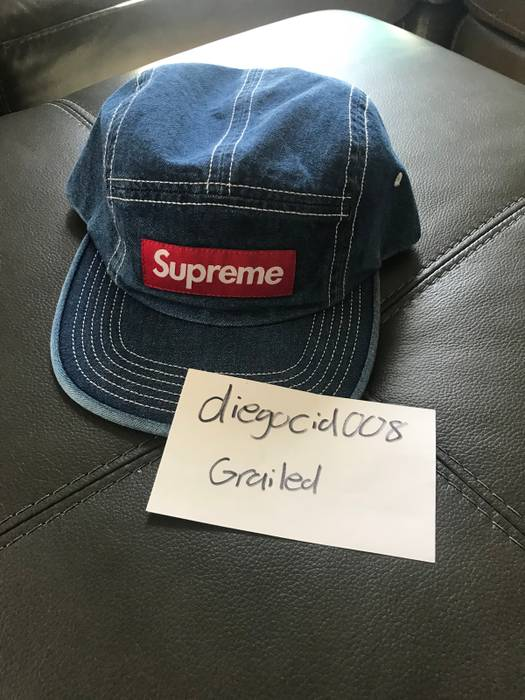 fb0157c806f Supreme Supreme Denim Hat Size one size - Hats for Sale - Grailed