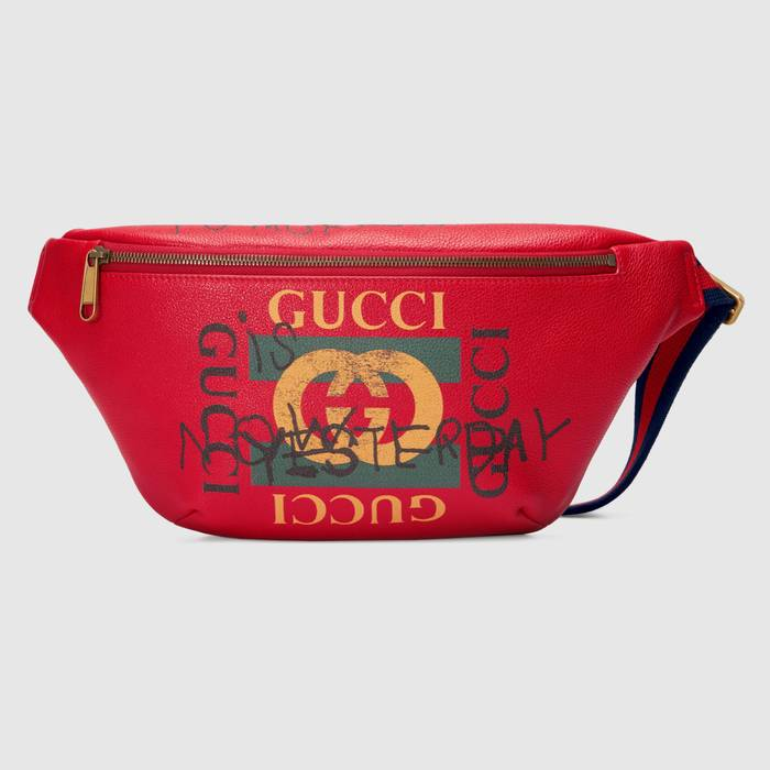 462391d311ab Gucci GUCCI 2017 F/W LIMITED EDITION COCO CAPITAN RED BELT WAIST BAG WITH  HANDWRITTEN