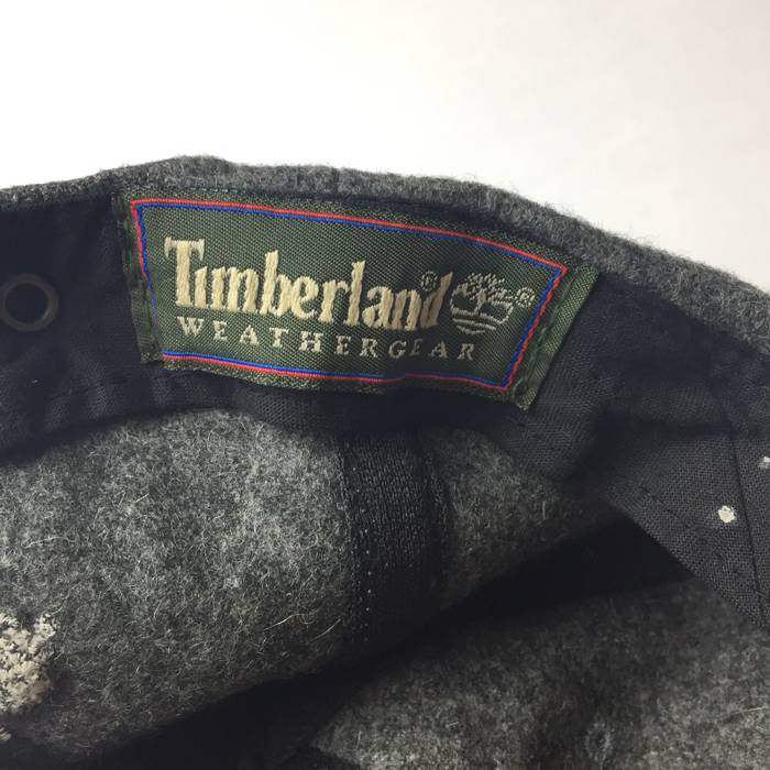 df5491034d7 Timberland VIntage Timberland Logo Wool Strap Back Hat Cap Weathergear Gray  Size ONE SIZE - 3