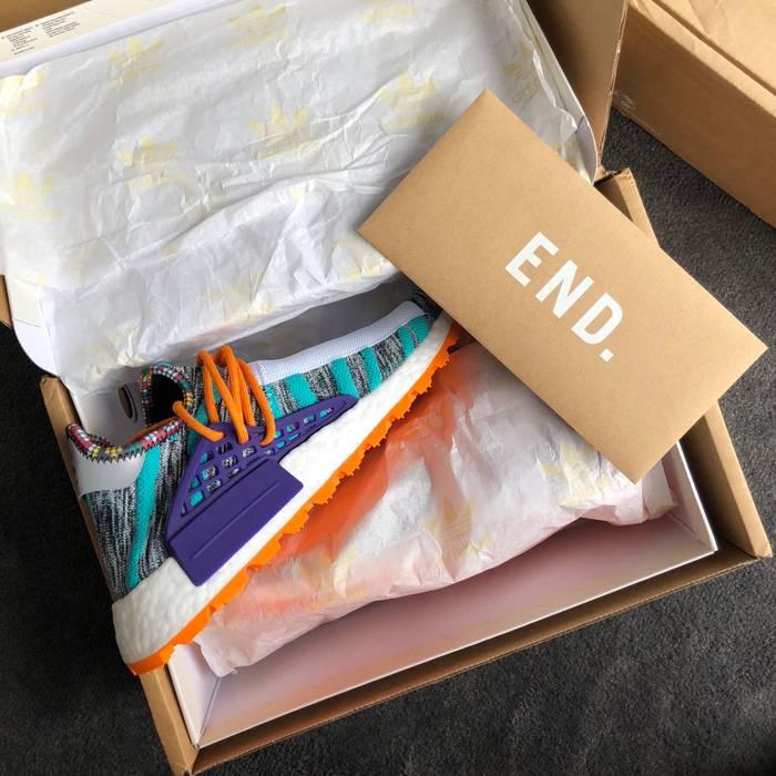 """08b198261 Adidas Pharrell Williams x adidas Solar HU NMD """"M1L3L3"""" Size US 9.5   EU"""