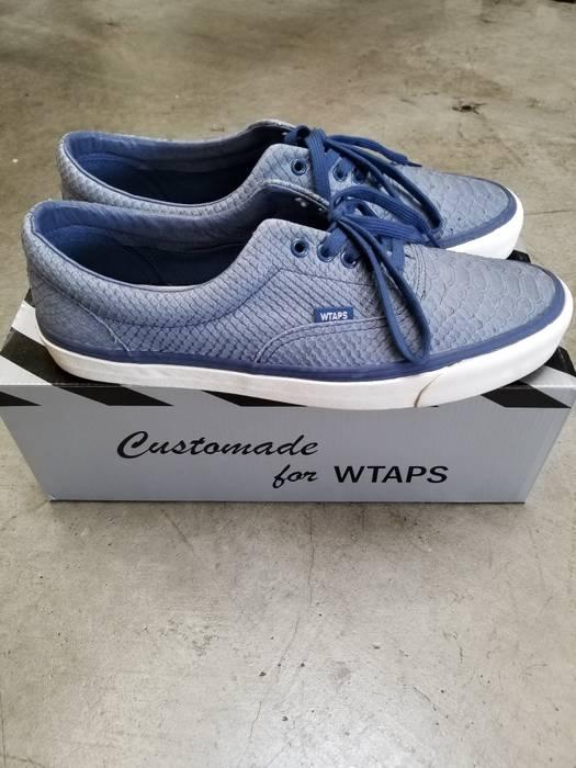 829985fb8f Vans Vans Vault x Wtaps Blue Anaconda Authentics Size US 13   EU 46 - 2