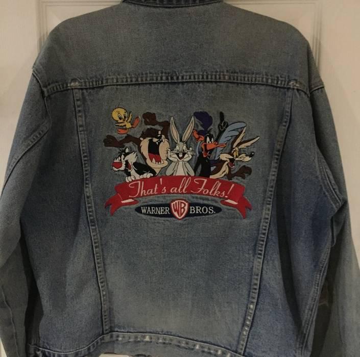 161b388b24 Vintage Vintage Looney Tunes Denim Jacket Size m - Denim Jackets for ...