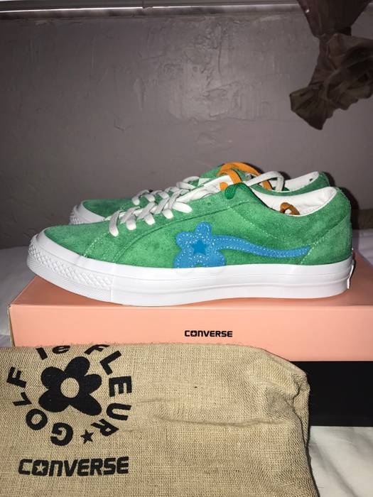 Converse Tyler The Creator X Converse Golf Le Fleur Green blue Size US 8   4d111c3ad