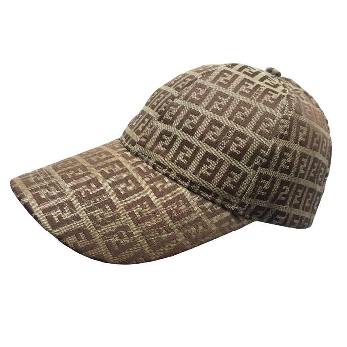 Fendi Vintage Fendi Zucca Monogram Cap Hat Size one size - Hats for ... 7a2d0cccbea