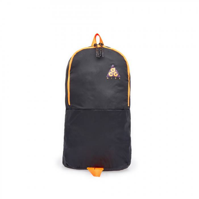 d02e13eba4a Nike Nike ACG Packable Backpack Night Purple   Black   Bright Mandarin Size  ONE SIZE