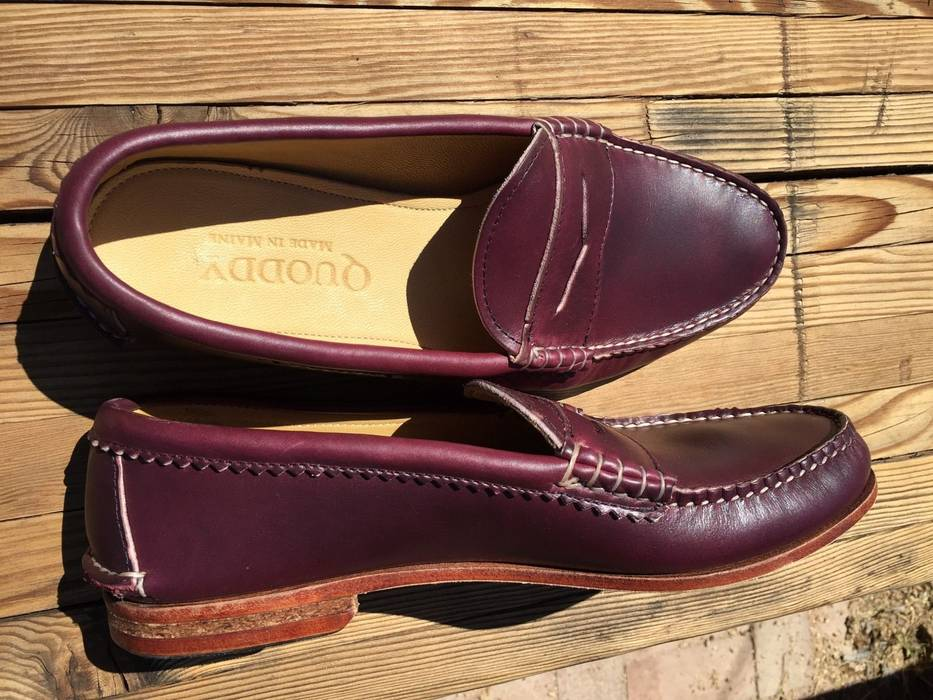 e145164a945 Quoddy True Penny Loafer Windsor Wine Size 10 - Formal Shoes for ...