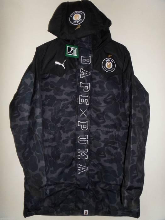 Bape PUMA X BAPE Long Coat Camo Size m - Heavy Coats for Sale - Grailed dcf3af5742099