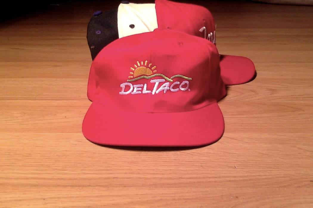 Sports Specialties Vintage Del Taco Logo Snapback Hat Size one size ... 3152f6b9c1c