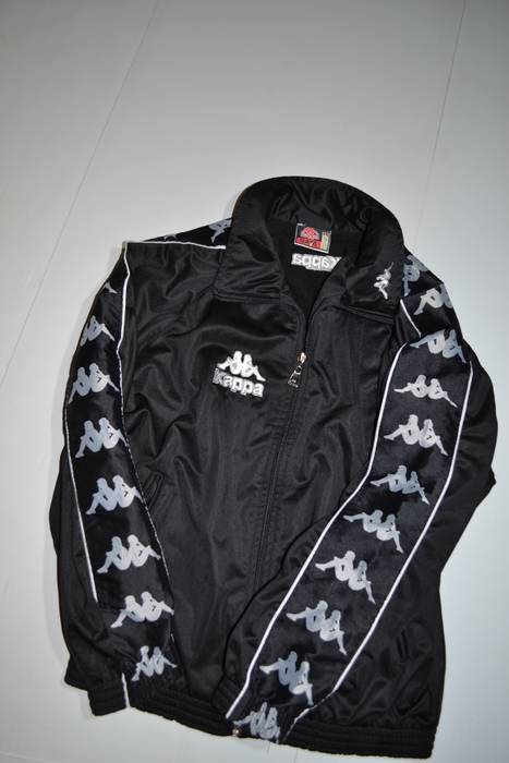 Kappa Kappa Xl size Italian Sportswear Tracksuit Jacket with logo ... d97da5bda