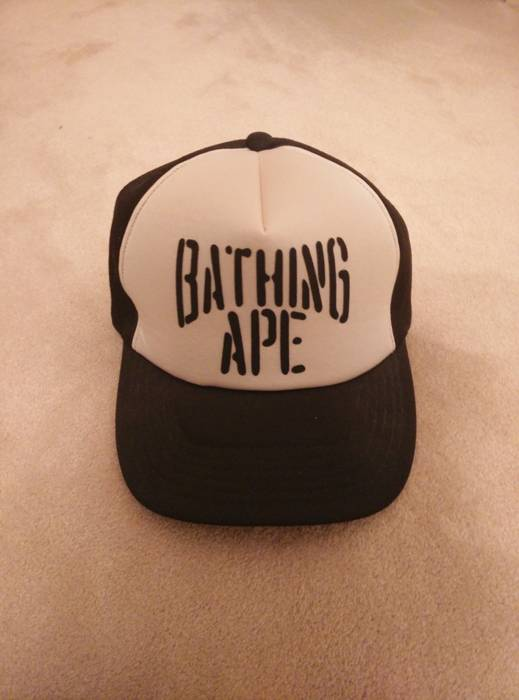 Bape Bape Trucker Hat Size one size - Hats for Sale - Grailed 0abc8554b