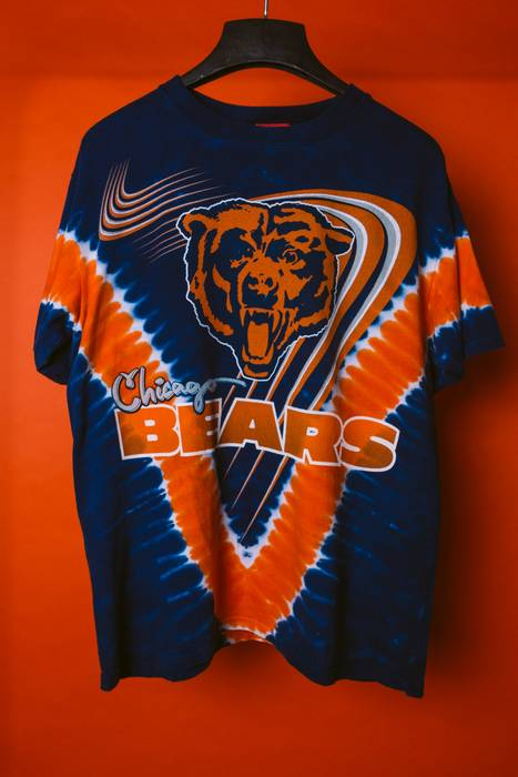 6f131f59558 Vine Chicago Bears Tie Dye Orange Blue Americana Rsvp Lolla