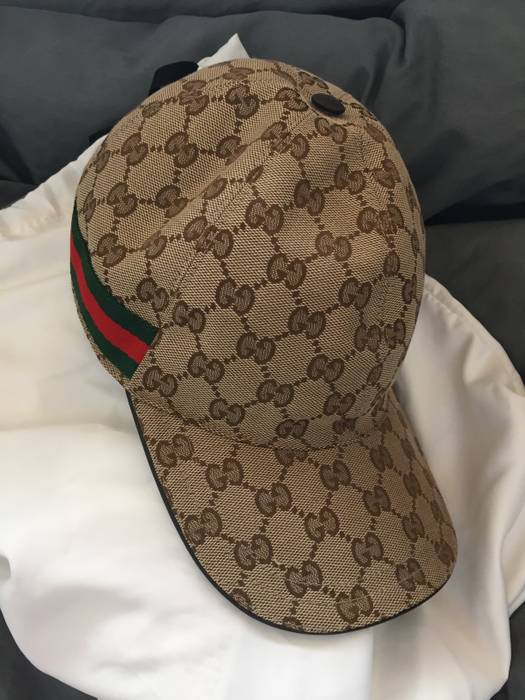 Gucci Classic GG Supreme Baseball Cap (XL) Size one size - Hats for ... ec24ad2c8c4