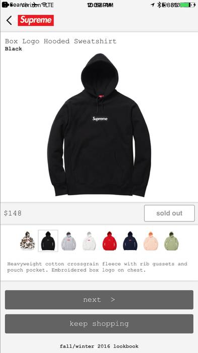 Supreme Box Logo Hoodie Size xl - Sweatshirts   Hoodies for Sale ... 75148e3661