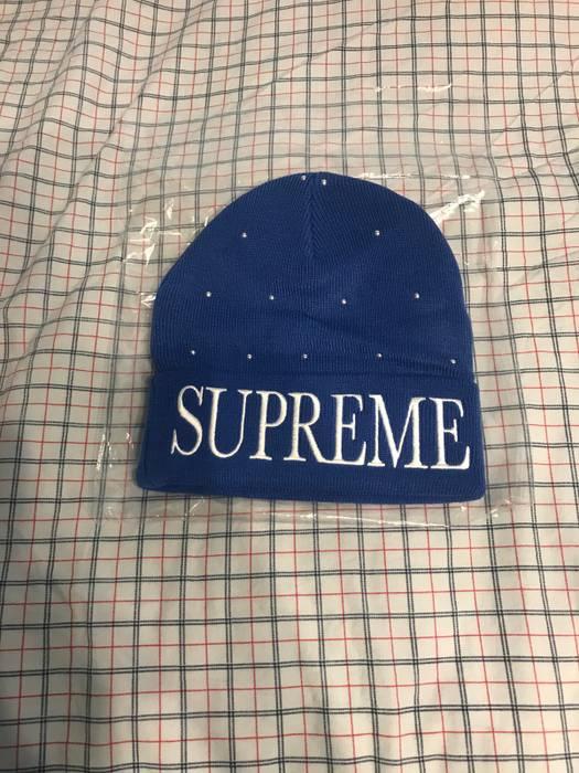 27fce14bbfa Supreme Studded Royale Blue Supreme Beanie Size one size - Hats for ...