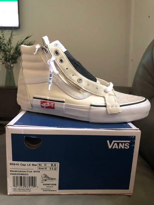 ca607eecf36 Vans Vans Sk8-Hi Deconstructed Marshmallow Size US 9.5   EU 42-43