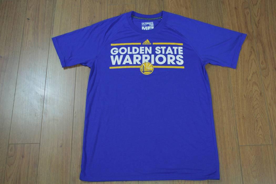 Adidas Adidas Golden State Warriors Ultimate Tee Blue T Shirt Warmup ... 6bc5e8013