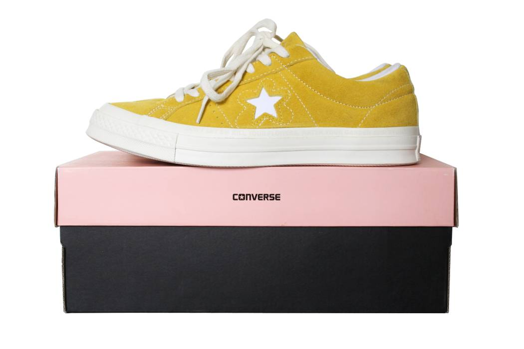 Converse Converse X Golf Le Fleur One Star Sulfur Yellow Size US 8   EU 41 a6e89285a13