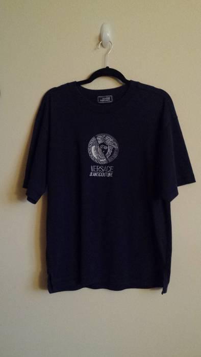 1b2e3da62540 Versace Embroidered Medusa Head Tee Size l - Short Sleeve T-Shirts ...