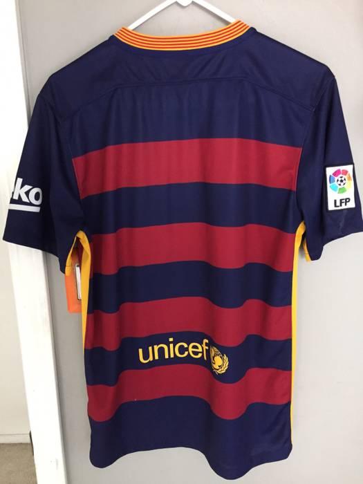 online store 670a0 3478b New FC Barcelona Home Kit 20152016 Barca FC Barcelona
