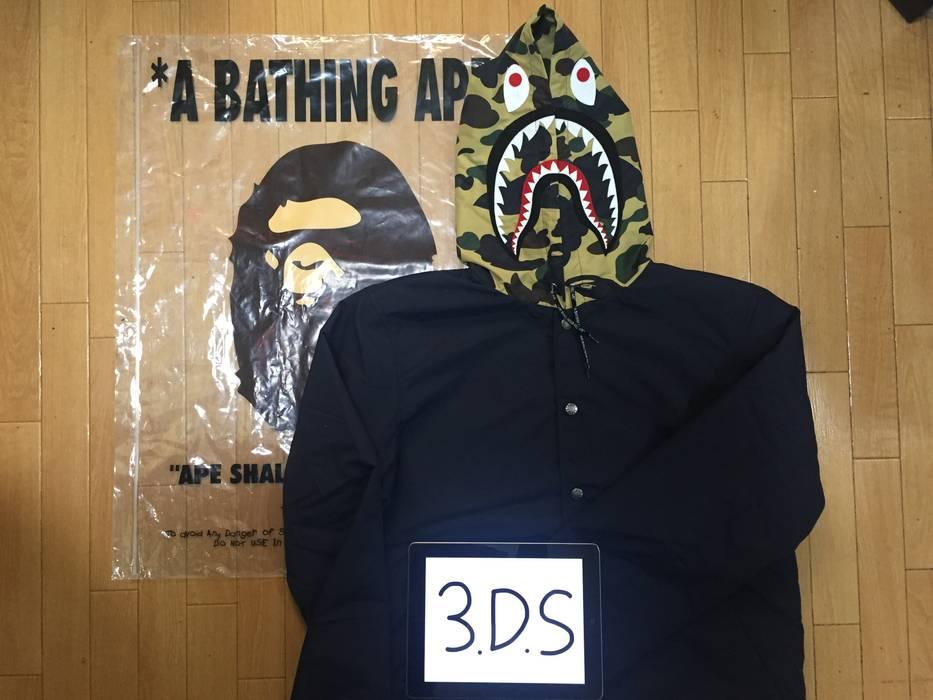 Bape Shark Coach Jacket Hoodie Size Xl Light Jackets For Sale